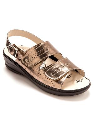 Sandales à semelles massantes