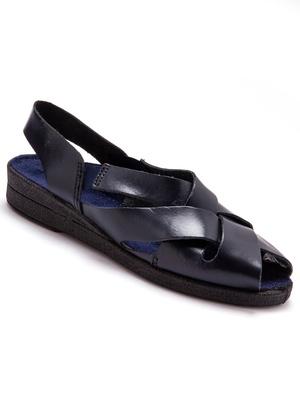Sandales ultra-souples en cuir lisse