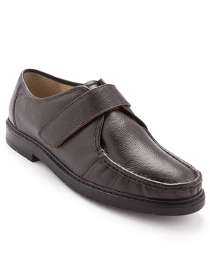 Derbies cuir grande largeur