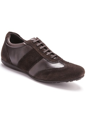 Derbies à lacets en cuir, largeur confor