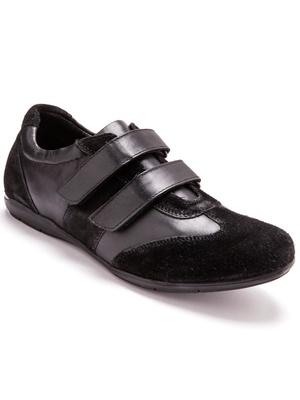 Derbies cuir bimatière, largeur confort
