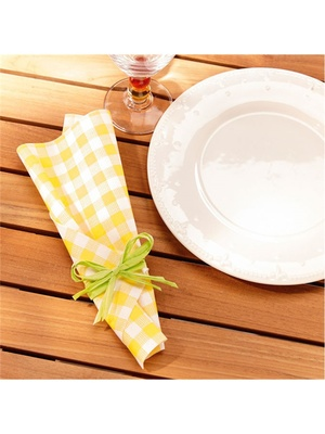 Lot de 2 rouleaux de serviettes de table