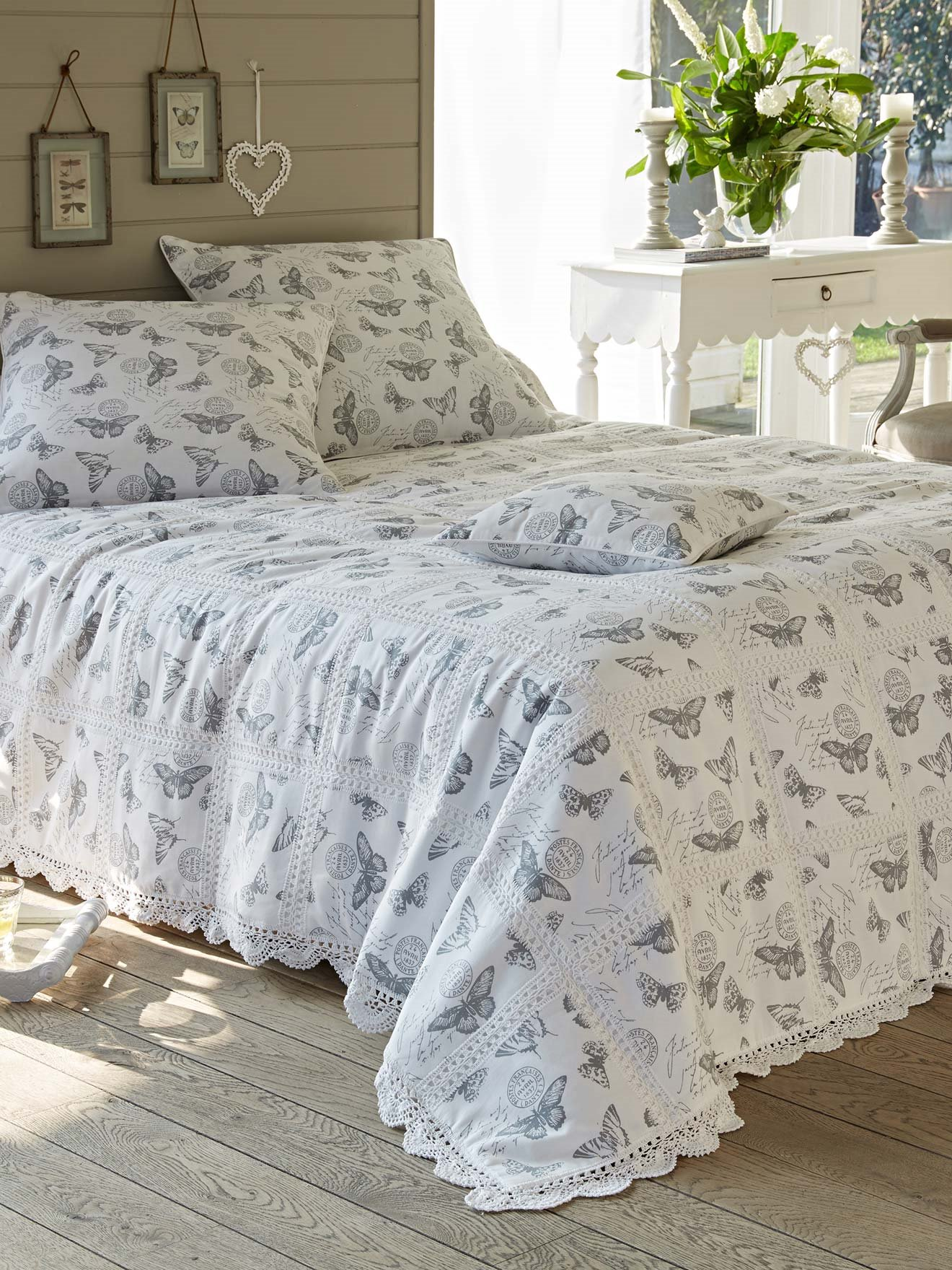jet de lit boutis 180x250cm daxon. Black Bedroom Furniture Sets. Home Design Ideas