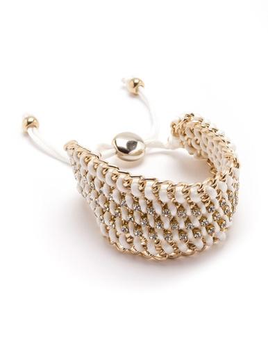 Bracelet avec strass, accessoire chic