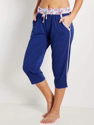 Pantacourt de pyjama, maille pur coton