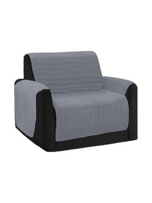 Protège-fauteuil matelassé antiglisse
