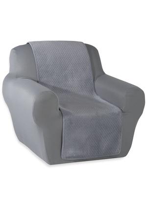 Jeté de fauteuil en velours