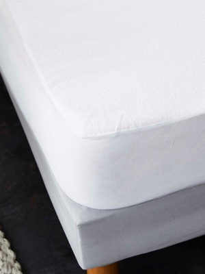 Protège-matelas molleton coton absorbant