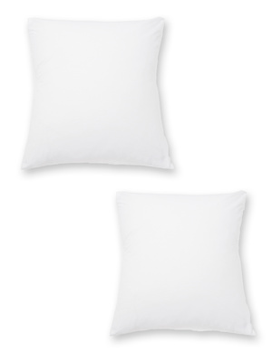 Sous-taies, lot de 2, pur coton