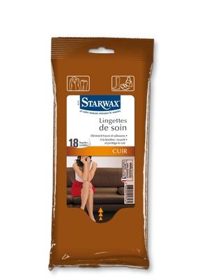 18 lingettes soin du cuir STARWAX®