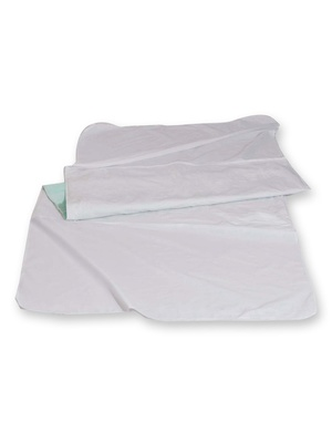 Alèse de lit lavable, avec rabats