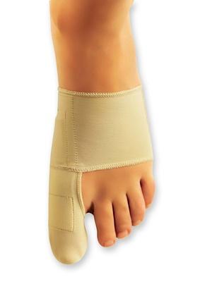 Orthèse corrective pour pied gauche