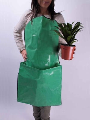 Tablier de jardin plastifié avec poche