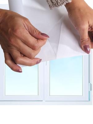 Film isolant transparent spécial fenêtre