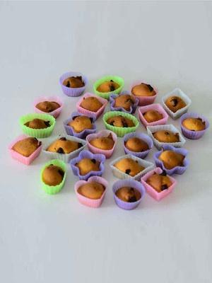 Moules en silicone, lot de 24