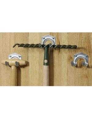Lot de 3 crochets pour outils de jardin