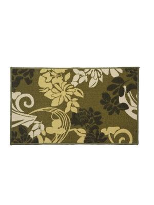 Tapis de cuisine antiglisse motif fleuri
