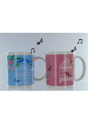 Lot de 2 mugs musicaux