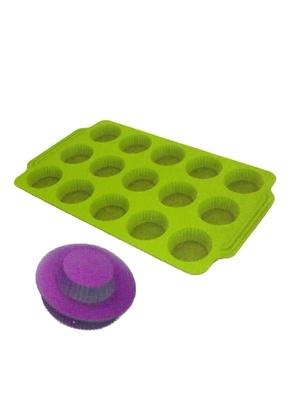 Moule à tartelettes en silicone et empor