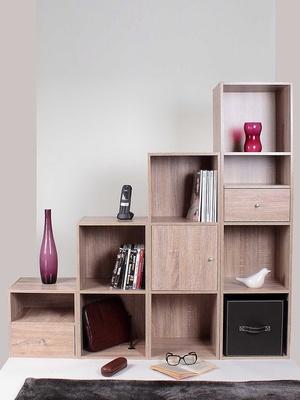Lot de 2 tiroirs pour meuble à cases