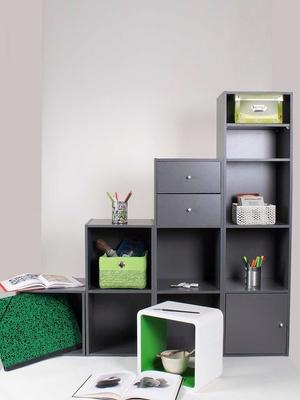 Tablette pour meuble à cases