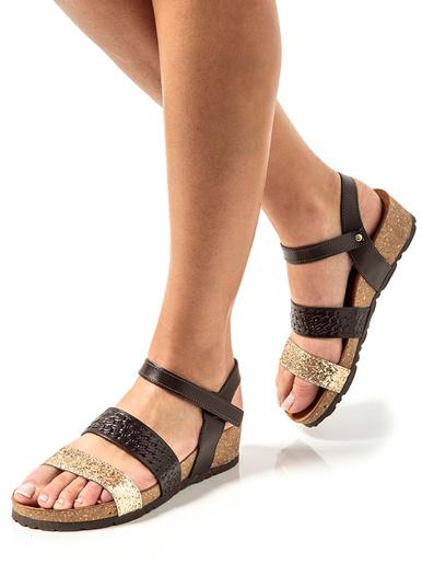 Sandales semelle liège et aérosemelle®