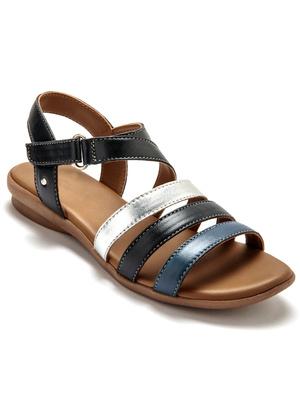 Sandales grande largeur, aérosemelle®