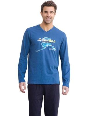 Pyjama Alaska pur coton, col V