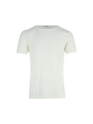 T-shirt bi-matière, 42% laine