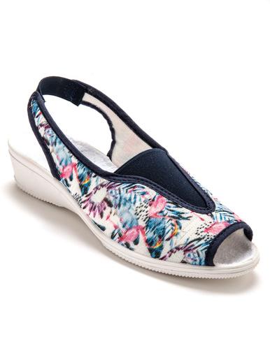 Sandales élastiquées