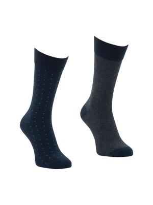 Lot de 2 paires de chaussettes Peplum