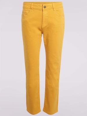 Pantalon détails brodés
