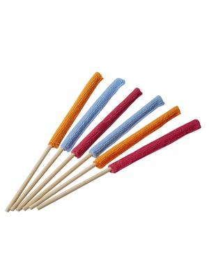 6 baguettes anti-poussière