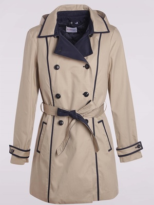 Trench pur coton