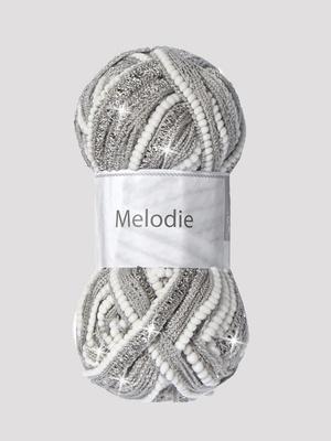 Fil à tricoter Mélodie pour écharpe