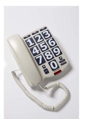 Téléphone à touches extra larges