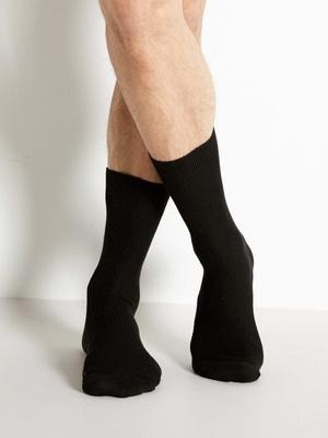 Mi-chaussettes non comprimantes 2 paires