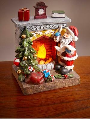 Décoration lumineuse Père Noël