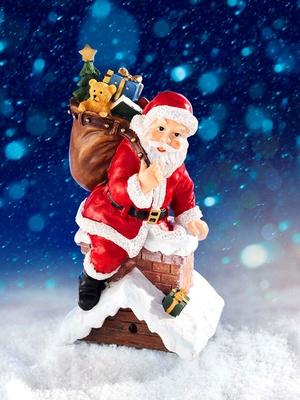 Père Noël chantant détecteur mouvements