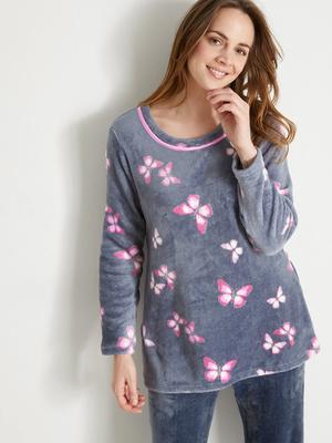 Pyjama en maille peluche