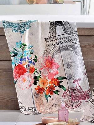 Drap de bain Paris Romantique, pur coton