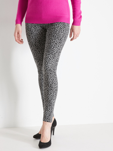 Lot de 2 leggings en jersey