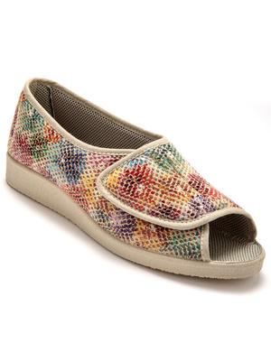 Sandales à large patte auto-agrippante