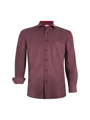 Chemise tendance, manches longues