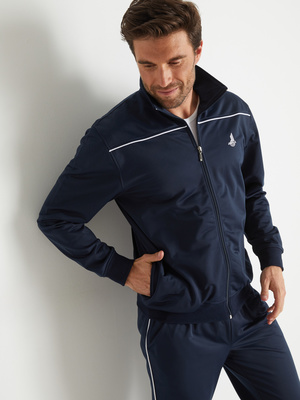 Veste de jogging zippée