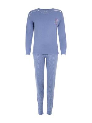 Pyjama avec détails dentelle
