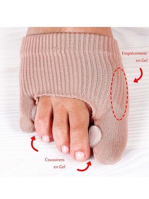Protège doigts de pied avec gel