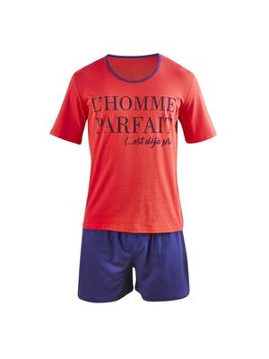Pyjashort Perfect Man en coton