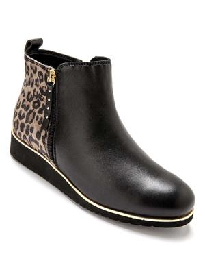 Boots double glissière, à aérosemelle®