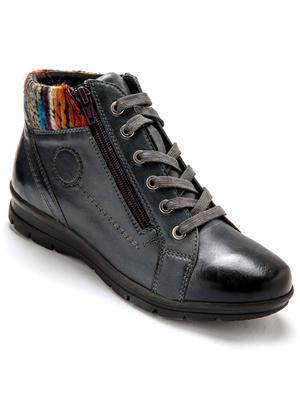 Boots cuir, à aérosemelle® amovible